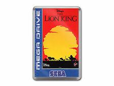 THE LION KING Sega Megadrive Game Cover Art Fridge Magnet