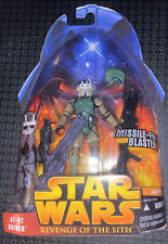 Hasbro Star Wars ROTS Episode III - AT-RT Driver - Missile Firing Blaster Action