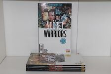 fumetto SECRET WARRIORS PANINI 5 VOLUMI SERIE COMPLETA
