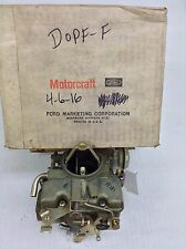 NOS HOLLEY 1940 CARBURETOR LIST 4525 D0PF-F 1965-1967 FORD CAR-TRUCK 240 ENGINE