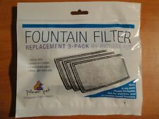 NEW REPLACEMENT 3 PACK FOUNTAIN FILTER BY PIONEER PET # 3003