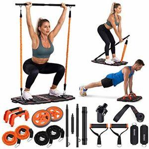 kit entrenamiento musculos resistencia portatil maquinas cable mancuernas