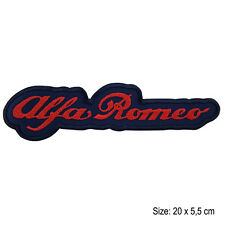 Toppa ALFA ROMEO stemma moto patch termoadesiva grande big motors motocycle