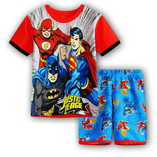 Unisex Kids Boys Clothing Long/Short Sleeves Toddler Sleepwear Pj's Pyjamas Sets