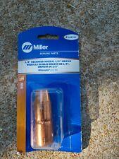 Genuine Miller Electric 169724 12 Gun Nozzle Recessed