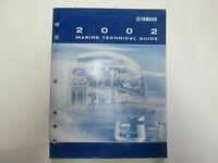 2002 Yamaha Marine Technical Guide Manual LIT-18865-01-02 Factory OEM ***