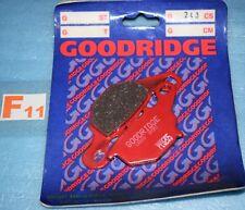 2 plaquettes de frein avant GOODRIDGE Suzuki RM 80 85 KAWASAKI KLX KMX 125