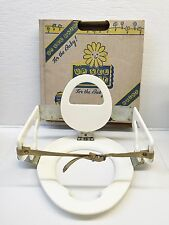 Rare 50's UP SEE DAISY Collapsible Child's Potty Chair Oringinal Box