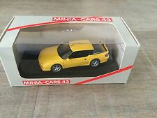 Minia-cars 1/43 Renault Alpine A610 Turbo 1993 yellow French handbuilt resin
