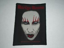 MARILYN MANSON WOVEN PATCH