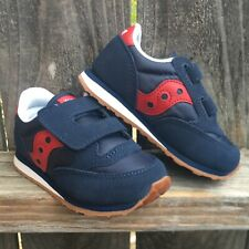 Saucony Boys Shoes 7 Baby Jazz HL Sneakers Casual Navy Blue