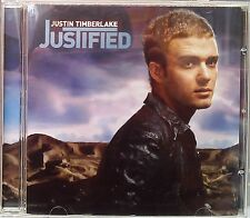 """Justin Timberlake - Justified (CD 2002) """"Like I Love You"""" """"Cry Me a River"""""""