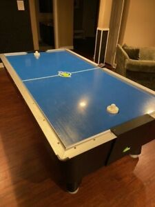 Dynamo 8' Air Hockey, Pro Style Home, Non-coin operated