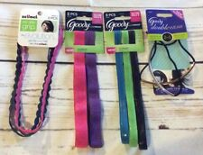 Goody Evolution SlidePROOF Doublewear 2 in1 Headbands & Headwraps Assortment NEW