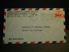 APO 61 LANDSBERG or NELLIGAN, GERMANY 1953 Army Cover 6910th Security Group