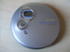 Working but FAULTY DISPLAY Sony Walkman D-EJ750 CD Player Jog Proof G Protection