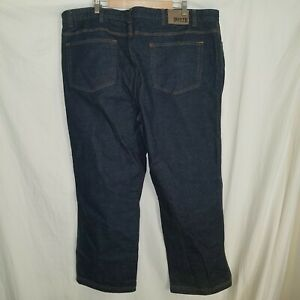Duluth Trading Flex Ballroom Jeans 48x30 Dark Wash Relaxed Excellent Condition!
