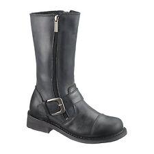 Ladies Chic Motorcycle Boots Harley-Davidson Brenna Black UK Sizes 4 & 7.5