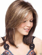 New sexy Women's ladies Natural Hair wigs short Mix color + wig cap