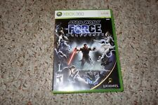 Star Wars: The Force Unleashed 1 (Microsoft Xbox 360, 2008) Complete