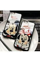Cute Cartoon Lovers MINNIE Mouse Case for IPHONE X Soft Silicon Cover -US SELLER