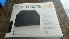 """NEW Kenmore 56"""" x 25"""" x 44"""" Grill Cover 71 23656 Waterproof Black Easy to Clean"""