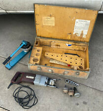 Vintage T Drill T 30g Copper Pipe Drill Cutter With Some Bitsaccs Working Cond