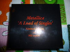 Metallica / A Load Of Singles ORG LTD 500 8CDBOX Poster Rare!!!!!!!!!!!!!!!