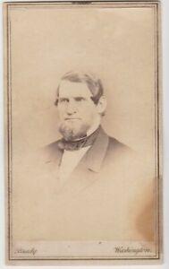 CDV Congressman OAKES AMES by Brady - Abraham Lincoln Ally 13th Amendment SCARCE