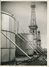 CALIFORNIE c. 1950 - Oil Industry  Cuves de Stockage  - USA 100