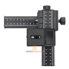 Pro 4 Way Macro Shot Focusing Rail Metal Slider for Nikon Peantax DSLR Camera