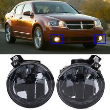 For Dodge Challenger Charger Nitro Avenger Caliber Smoke Fog Lights Bumper Lamps