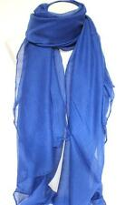NEW ROYAL BLUE LARGE MAXI SCARF HEAD SCARVES STOLE SARONG SHAWL Fast Shipping