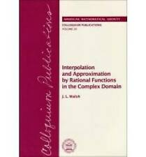 Interpolation and Approximation by Rational Functions in the Complex Domain (Col