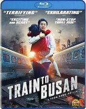 TRAIN TO BUSAN (DTS:X)  - BLU RAY - Region free - Sealed