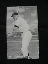 J.D. McCarthy Mickey Mantle postcard New York Yankees baseball MLB