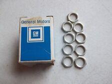 NOS OEM GM Genuine (9) 7235969 1968-1972 Chevy Corvette Wiper Control Switch Nut