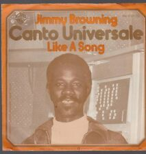 """7"""" Jimmy Browning Canto Universale / Like A Song 70`s Warner Bros"""