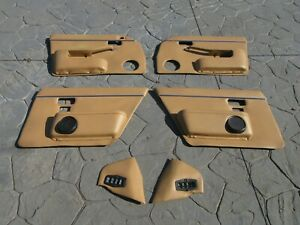 1980-1986 Jaguar XJ6 XJ12 Series III 3 Interior Door Panels Door Cards Set JP