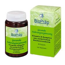 Vitamin B-Komplex aus Buchweizenkeimlingen, 90 Kapseln. (Hersteller: Biopräp)