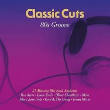CLASSIC CUTS 80s GROOVE 21 Massive 80s Soul Anthems NEW & SEALED 2LP VINYL