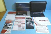 14 2014 Kia Sorento owners manual with Navigation