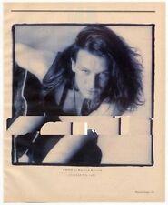 U2 Bono Magazine Photo 1987
