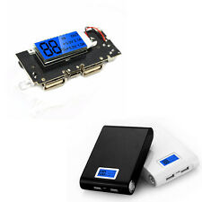 Dual USB 5V 1A 2.1A Mobile Power Bank 18650 Battery Charger PCB LCD Phone DIY