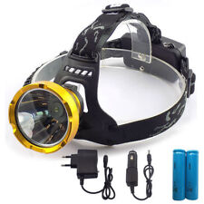 Led Head Lamp flashlight Headlight Miner's  headlamp torch light Camping Fishing