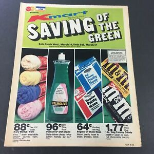 VTG Retro 1982 Palmolive, M&M's and More Brands Circular Advertising Ads