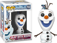 Frozen 2 - Olaf with Fire Salamander Pop! Vinyl-FUN46585-FUNKO