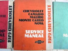 1979 CHEVROLET  MANUAL CHEVROLET  MONTE CARLO NOVA MALIBU CAMARO