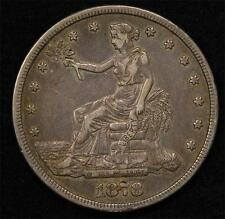 1878-S Trade Dollar:  Natural Color,  XF details, great coin for the price