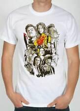 camiseta Quentin Tarantino película, dibujo con todos actores de película